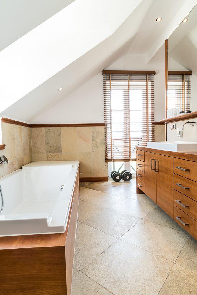 Holzbadeschrank für Badezimmer