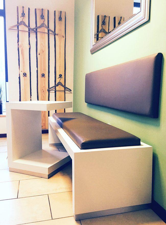 Sitzbank für Wartezimmer
