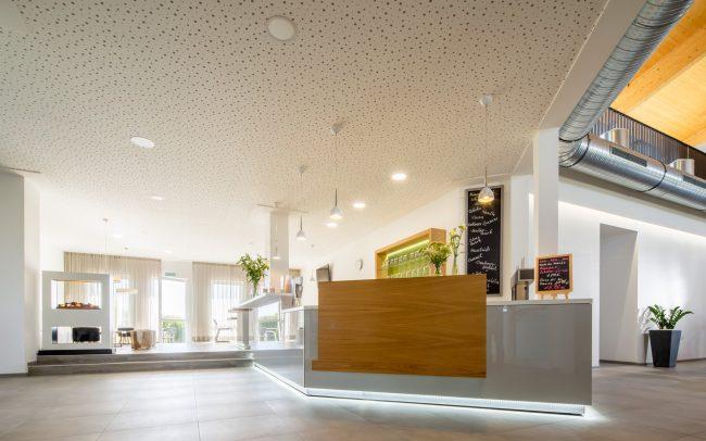 Modern Empfangstheke | Mit LED-Beleuchtung | Geschäftsraum