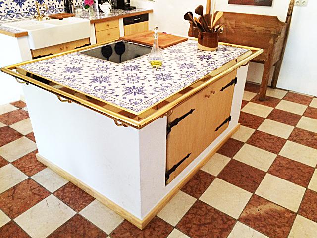 Freistehende Kücheninsel