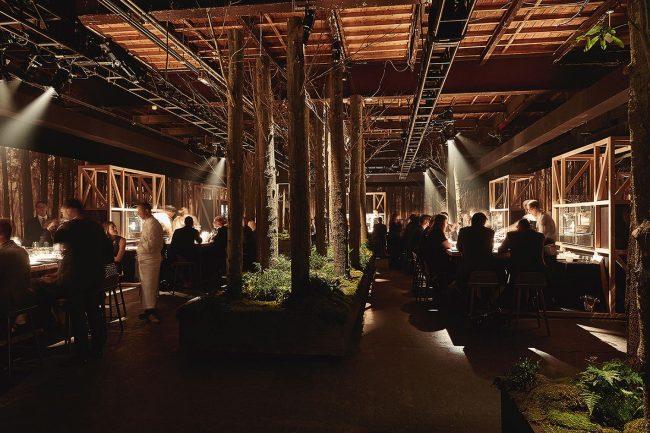 Mit Altholz ein Designerrestaurant gestalten