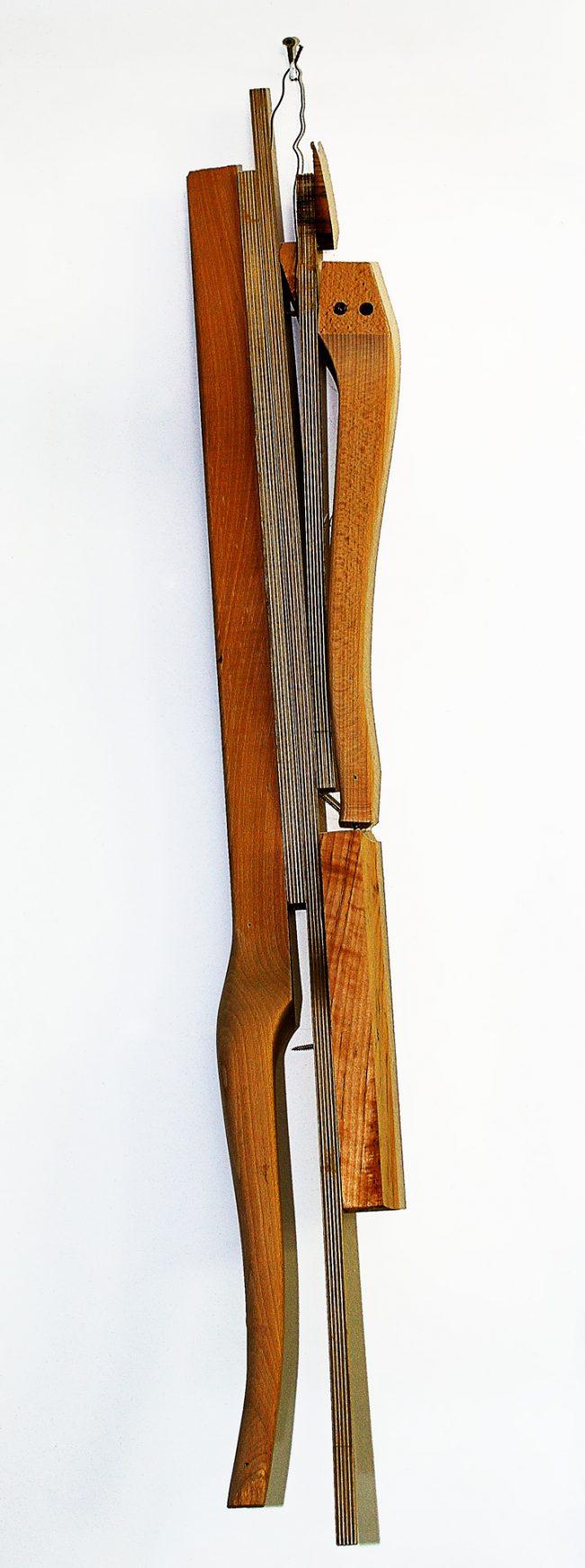 Antike Schablone für traditionellen Holzstuhl