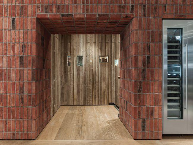 Hochmoderner Durchgang im rustikalen Style