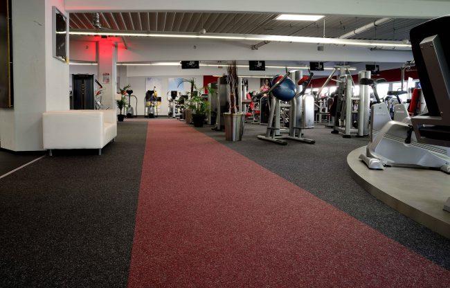 Industrieteppiche für Fitnessstudios