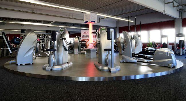 Podest für Fitnessparcours