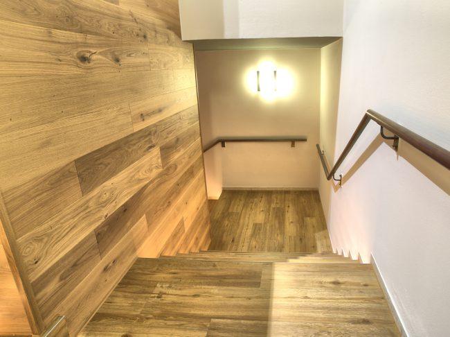 Treppenbau im Fitness-Studio